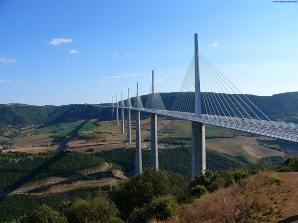 Millau Bridge wallpaper (14)