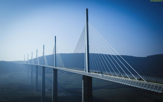 Millau Bridge wallpaper (16)