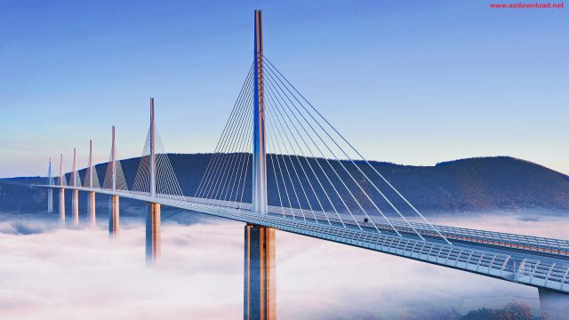 Millau Bridge wallpaper (18)