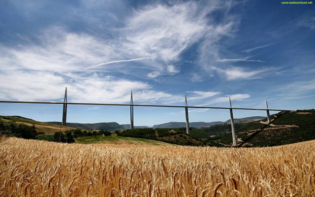Millau Bridge wallpaper (22)