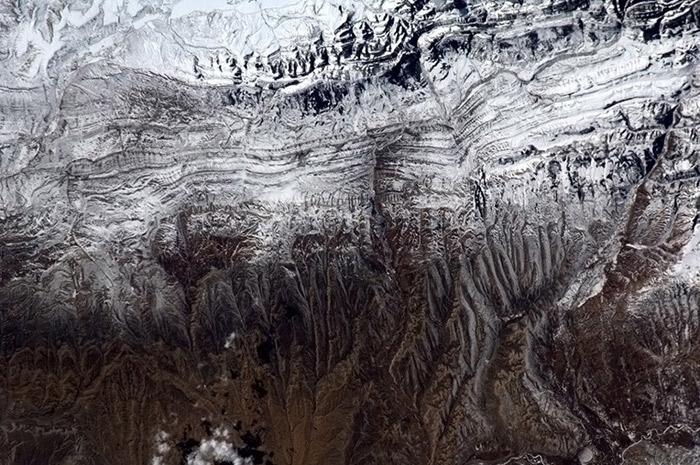 چشم انداز زمین از فضا