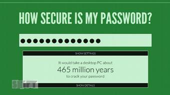 امنیت رمز عبور دسترسی سارقان به اطلاعات شخصی ما مشکل میسازد
