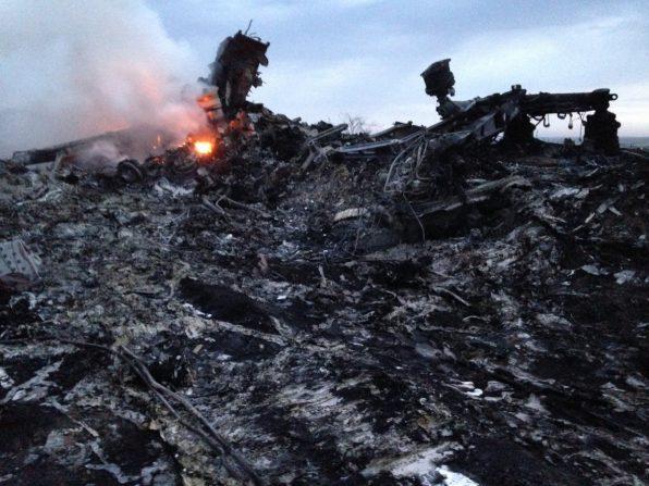 Malaysia plane crash in Ukraine