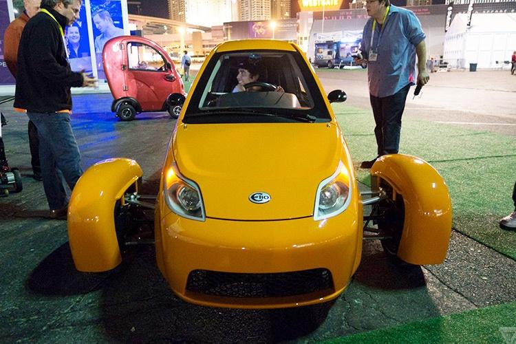 عجیبترین خودرو CES حتی چهار چرخ هم نداشت