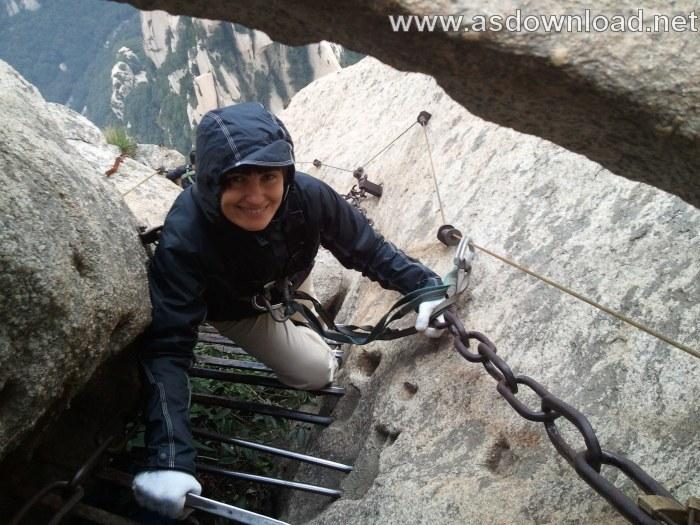 Mount-Huashan Danger Trail in world (10)