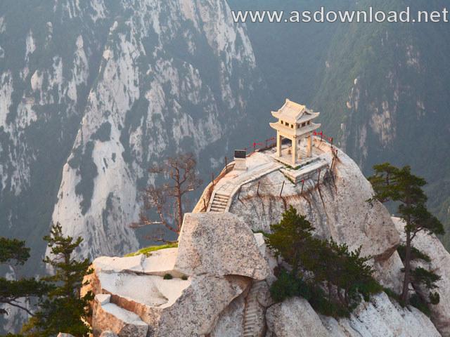 Mount-Huashan Danger Trail in world (20)
