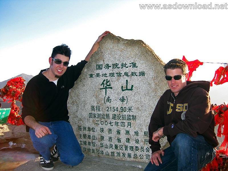 Mount-Huashan Danger Trail in world (26)