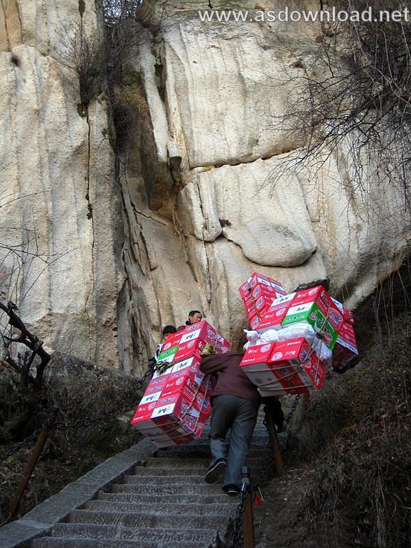Mount-Huashan Danger Trail in world (29)