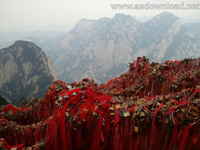 Mount-Huashan Danger Trail in world (4)