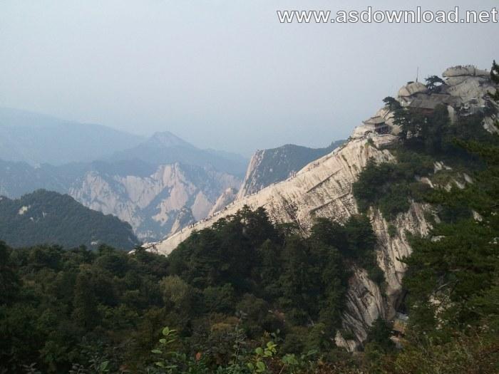 Mount-Huashan Danger Trail in world (5)
