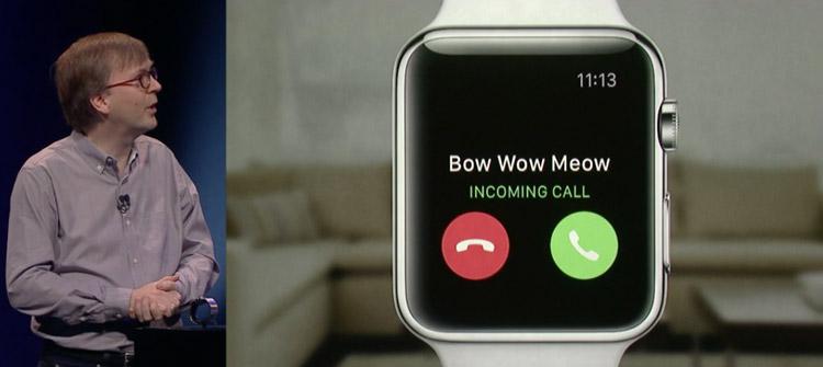 ساعت اپل امکان تماس تلفنی