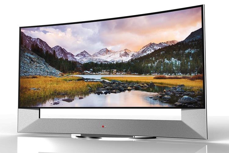 تلویزیون 105 اینچی الجی با رزولوشن 4K