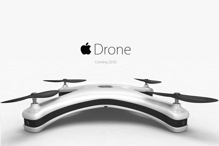 طرح مفهومی از پهپاد اپل