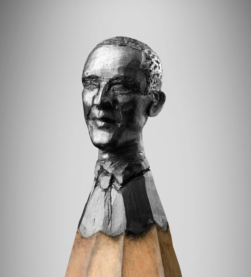 A Miniature Bust Of Barack Obama