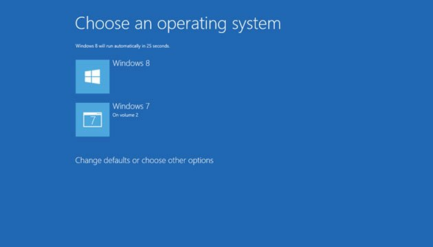Windows 8 / Windows 7 Dual Boot