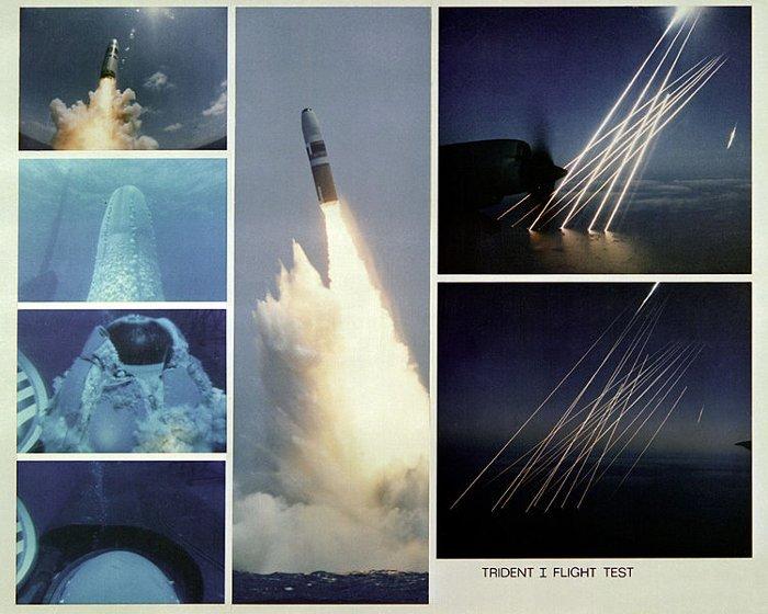 Trident C-4 montage