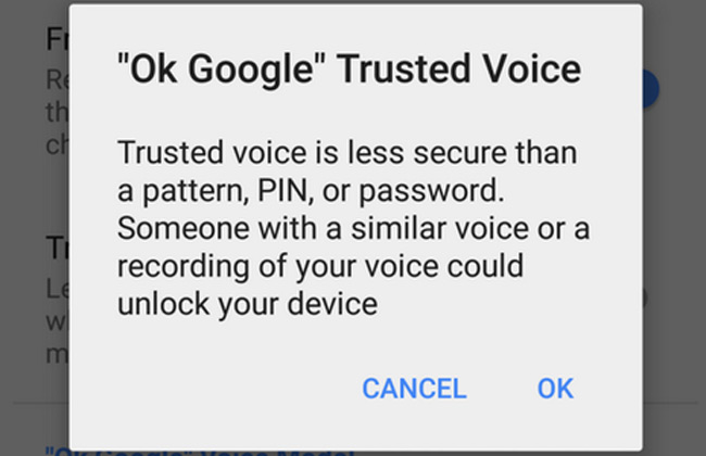TrustedVoice Android 5.1