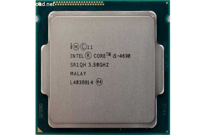پردازندهی Intel Core i5 4690 با توانایی بالا در اجرای بازیها
