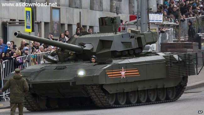 تانک آرماتا T-14 روسی