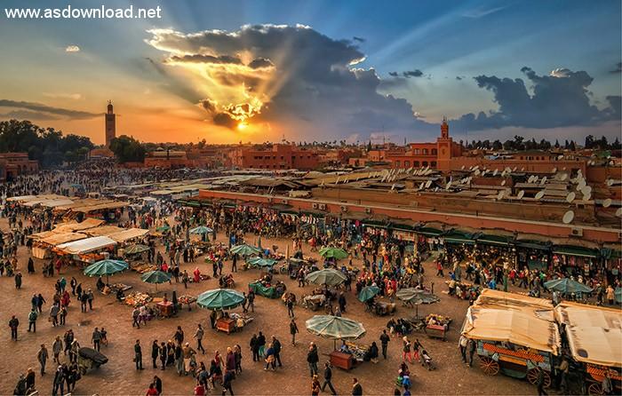 شهر باستانی مراکش