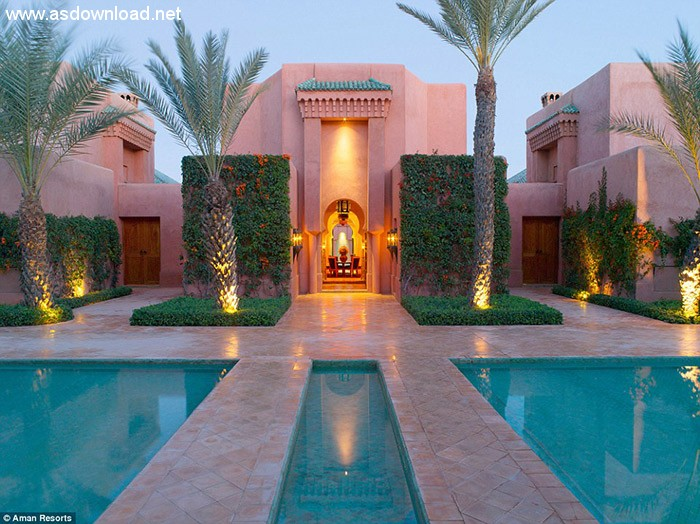 برگزاری تولد دیوید بکهام در هتل قصری مجلل در کشور مراکش