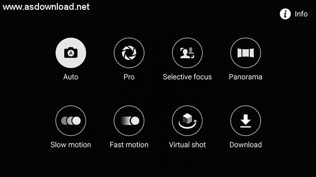 Samsung Galaxy S6 camera interface - 1