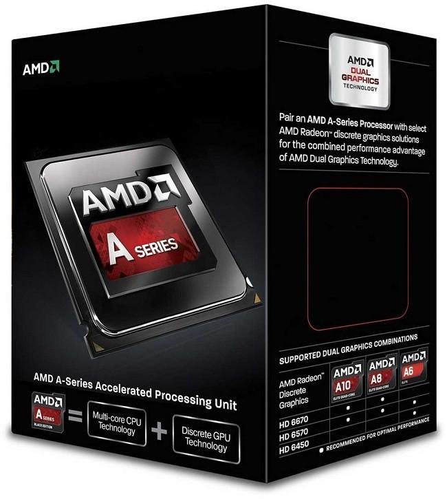 پردازنده ی AMD A6600
