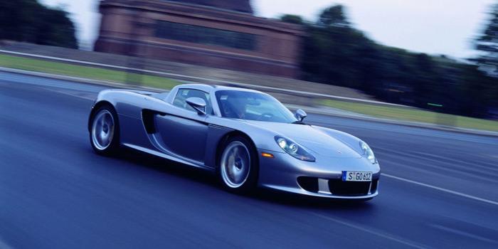fastest cars ever porsche carera gt