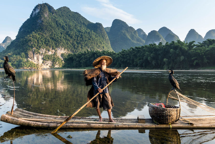Cormorant Fisherman, Yangshuo.