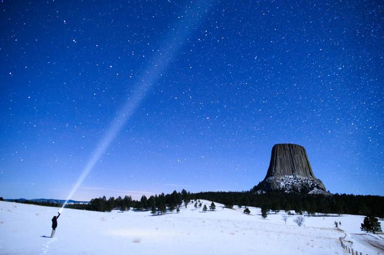 برج شیطان در Wyoming
