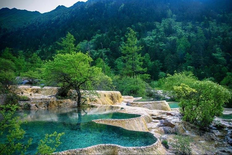 دره زیبای هوانگلانگ