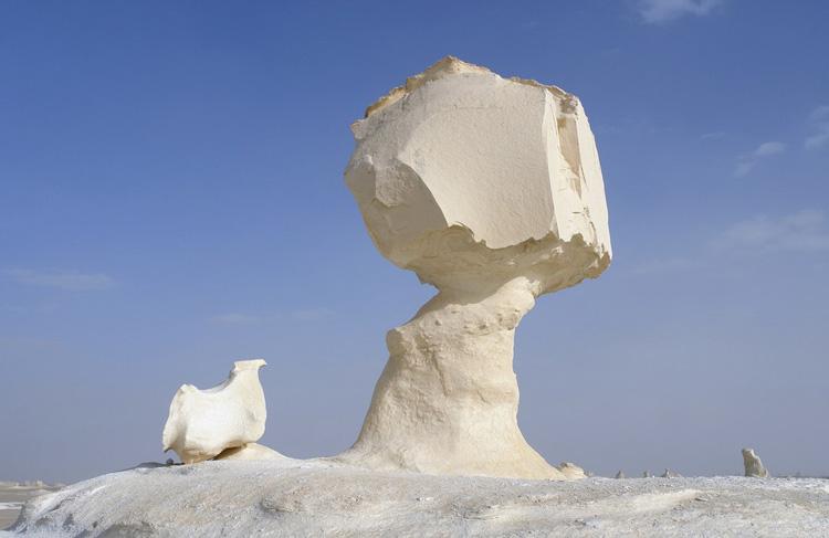 کویر سفید در Farafra