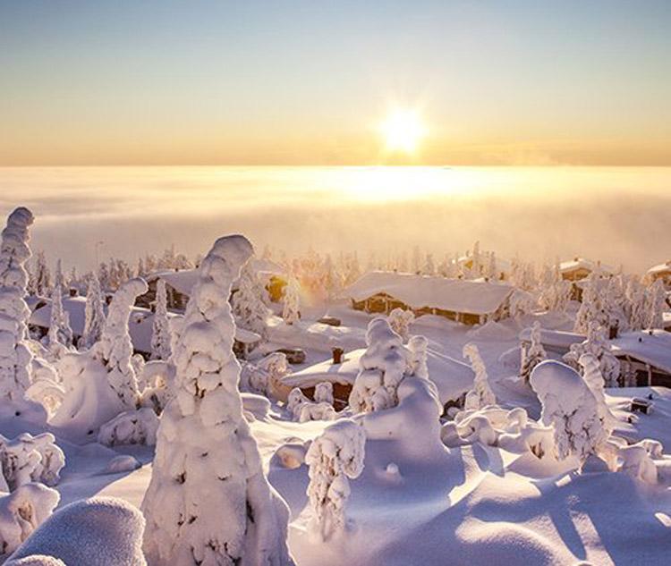 سرزمین عجایب زمستان در لاپلند