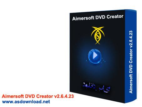 Aimersoft DVD Creator v2.6 تبدیل فیلم های ویدئویی به dvd قابل پخش بر روی پلیر خانگی  Aimersoft DVD Creator v2.6.4.23