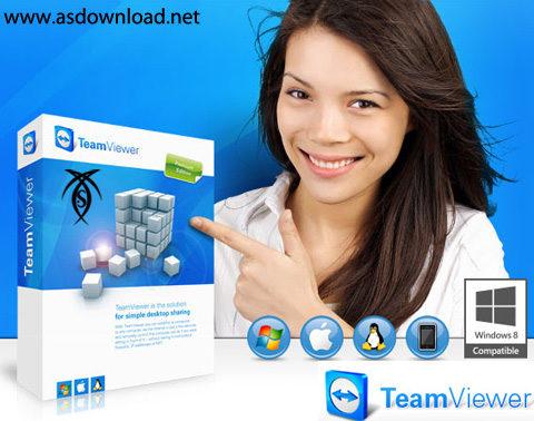 TeamViewer v8.0 TeamViewer 10.0.36897 + Portable  نرم افزار دسترسی و کنترل از راه دور کامپیوتر
