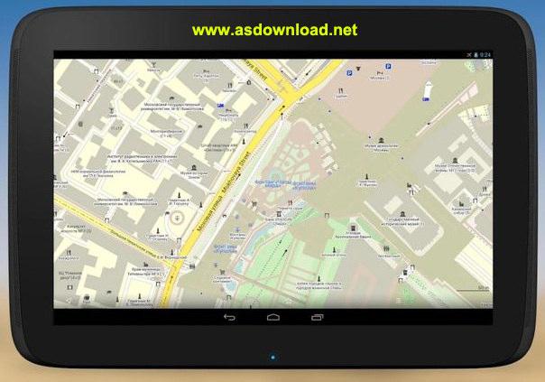 MAPS.ME Pro offline maps v4.1 MAPS.ME Pro  offline maps v4.1.3 نرم افزار نمایش نقشه آفلاین تمامی کشورها برای اندروید