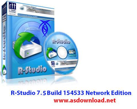 R Studio دانلود نرم افزار حرفه ای بازیابی اطلاعات  R Studio v7.5 Build 156211 Network Edition x86/x64