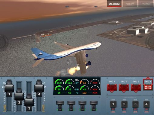 Screenshots of the Extreme landings pro for Android tablet, phone.