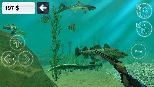 Screenshots of the Hunter underwater spearfishing for Android tablet, phone.