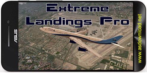 Extreme landings pro Extreme landings pro بازی خلبانی فرود و پرواز هواپیما در فرودگاه+دیتا