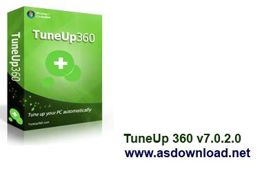 TuneUp 360 v7.0.2 TuneUp 360 v7.0.2.0  افزایش 360درجه ای سرعت کامپیوتر