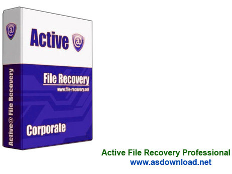 Active File Recovery Professional Active File Recovery Professional 13.1.1 نرم افزار بازیابی اطلاعات