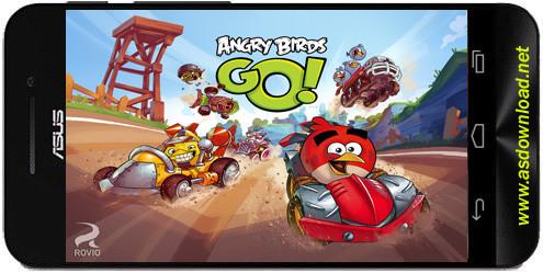 Angry Birds Go Angry Birds Go! نسخه جدید بازی پرنده گان خشمگین+دیتا