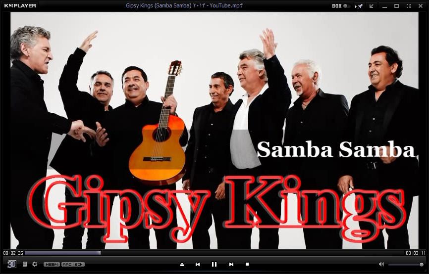Gipsy Kings Samba Samba 2014 دانلود آهنگ جدید جیپسی کینگز سامبا سامبا