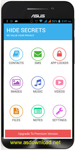 Hide Secrets-Pics, SMS, Apps v2