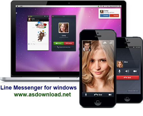 Line Messenger for windows