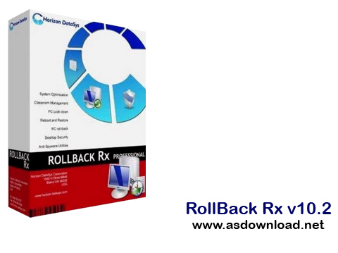 RollBack Rx v10 RollBack Rx v10.2  بازگردانی ویندوز به زمان دلخواه