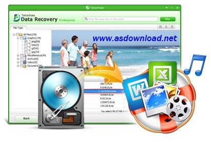 Tenorshare Any Data Recovery Tenorshare Any Data Recovery v4.3.0.0 نرم افزار بازیابی اطلاعات هارد دیسک ,موبایل و فلش مموری