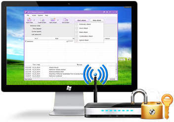 Wireless Password Recovery Wireless Password Recovery Pro v3.3.5.329 بازیابی رمز عبور شبکه وایرلس