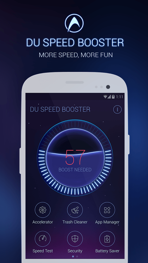 DU Speed Booster (Optimizer) - screenshot